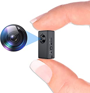 Mini Spy Camera Recorder,Fuvision Portable Hidden Camera with Motion Detect, 90 Minutes Battery Life, Loop Recording Cover...
