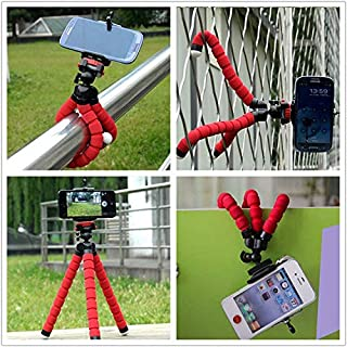 Ozone Universal Octopus Leg Tripod Stand Holder for Mobile Phone - Pink