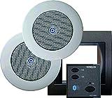 Sonelco PK2293-02 - Sistema de Sonido con Mando Amplificador con Dos Altavoces