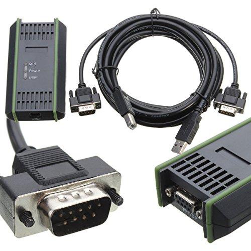Shumo PC USB Kabel für S7-200/300/400 RS485 Profibus/MPI/PPI 9-Pin Ersatz für 6ES7972-0CB20-0XA0
