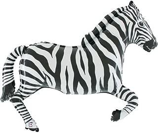 mylar zebra balloons