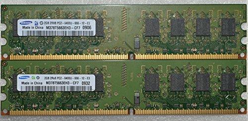 8GB 4x 2GB DDR2PC2–64006400U DDR2–800MHz Memoria RAM PC Desktop DIMM 240pin