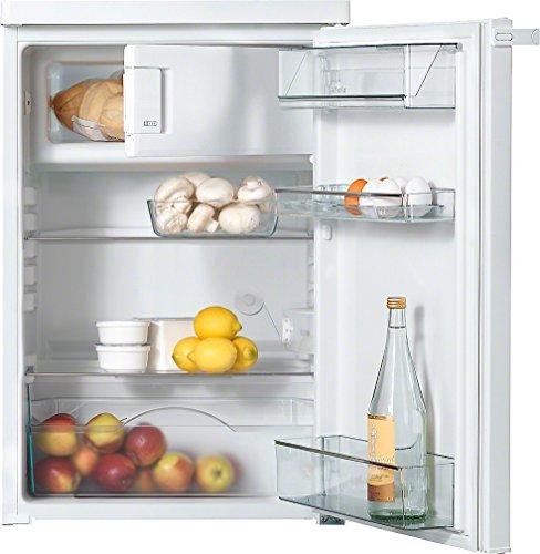 Miele K 12012 S-3 Stand Kühlschrank / 85 cm hoch / 117 l Kühlzone / 17 l Gefrierzone / leichte Reinigung - ComfortClean / integriertes 4*-Gefrierfach / Türanschlag wechselbar / Weiß[Energieklasse F]