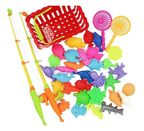36 Pièces jouets de pêche pour les enfants/beaux joujoux de poissons, NO.3