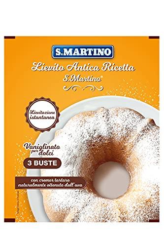 S.Martino - Lievito Antica Ricetta Senza Glutine 3 Buste - Bustone 48G