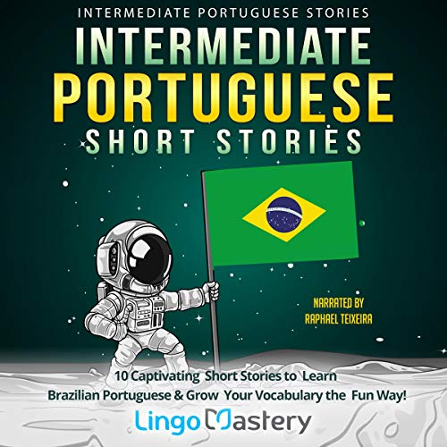 Intermediate Portuguese Short Stories cover art