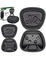 sisma コントローラー 収納ポーチ for Xbox Series X S ワイヤレスコントローラー Xbox Coreコントローラー対応 保護 ケース 耐衝撃 ポーチ 『黒色』