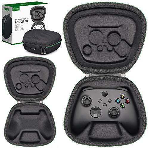Sisma Custodia da viaggio per Controller Wireless Xbox, Cover rigida per riporre e proteggere Gamepad originale di Xbox Series X o S o Xbox Core, Nero