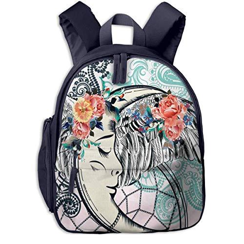 DJNGN Children's Backpack Foods Glass Jars Checked Table, Toddler Kids School Bag, Kinder Racksack for 25 Years Old