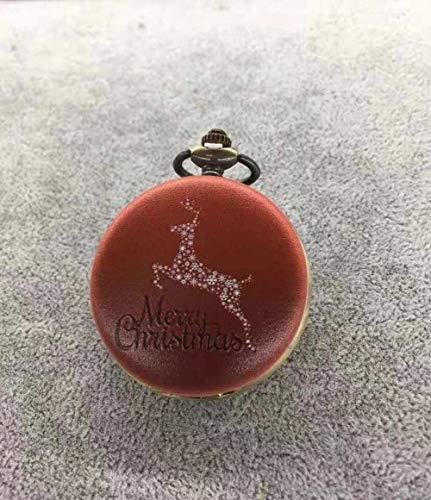 Nwarmsouth Reloj de Enfermera Fob,Reloj de Bolsillo Animal 3D, Bolsillo Retro con Tapa Watch-9,médico Reloj de Bolsillo de Cuarzo