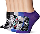 Star Wars womens Star Wars 5 Pack No Show Casual Sock, Assorted Purple, 9 11 US