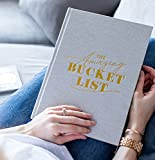 The Amazing Bucket List Book & Planner - Grey Fabric- 1st Edition