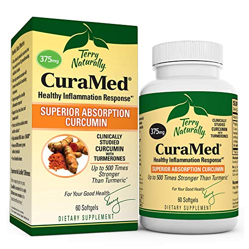 Terry Naturally CuraMed 375 mg - 60 Softgels -...