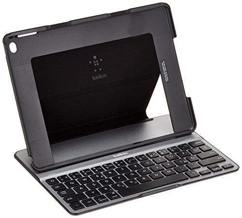 Belkin F5L178DEBLK QODE Ultimate Bluetooth Tastatur mit Hülle (geeignet für das iPad Air 2) schwarz