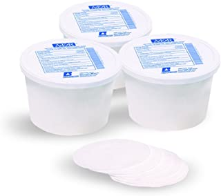 A-E-R 120 Ct. Medicated Hemorrhoid Pads - For Hygiene and Hemorrhoids 3 Cartons of 40 Ea.