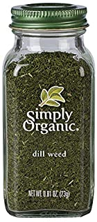 Simply Organic Dill Weed, Cut & Sifted, Certified Organic | 0.81 oz | Anethum graveolens L.