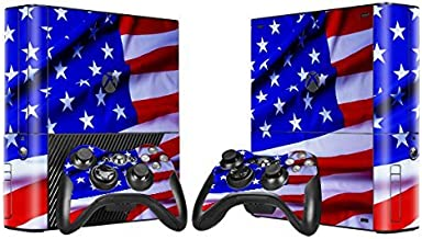 OOCEE Shine Skin Sticker for Xbox 360 E Console & 2 Controller Skins