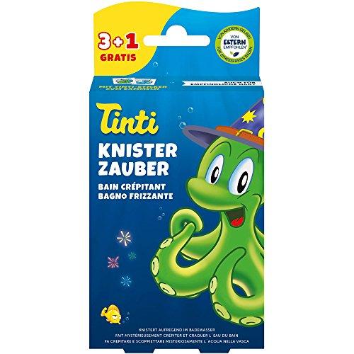 Tinti 15000469 Knisterbad 3 + 1 Spielzeug, Mehrfarbig