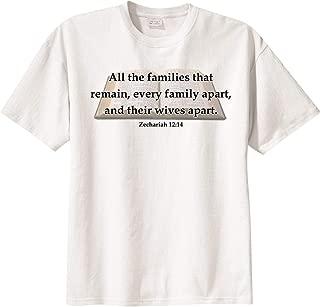 BibleShirts Zechariah 12:14 Short Sleeve T-Shirt
