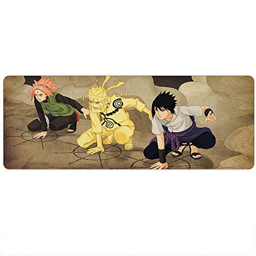 HLDC Game Mouse Pad Mat, 900x400x3mm, Super Anime, Zwaard Kunst Online Tokyo Ghoul huid Leuke Naruto Een Stuk, Computer Toetsenbord Mousepad, 400X900X3MM, 8