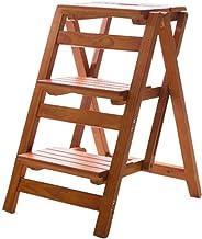 IG 3 Step Ladder Safety Non Slip Mat Than Heavy Duty Folding Cocina Portátil Taburete Hombre Herramienta Jardín Diy - Tabu...