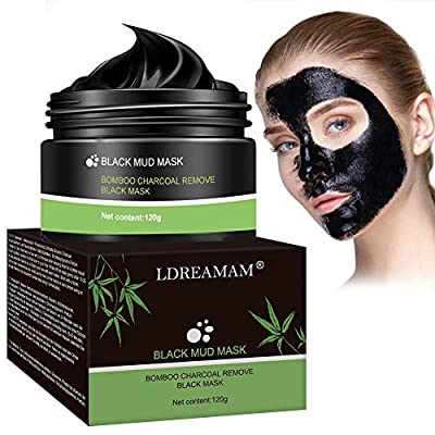 Blackhead Remover Face Mask,Peel Off Mask,Charcoal Face Mask,Purifying Black Face Mask with Activated Carbon,Deep Facial Cleansing Black Mask For The Nose, Cheeks And Chin by Ptkoonn