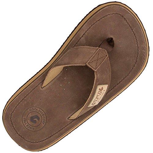 Cool Shoes Original 2Lux Slap - brown 43/ 44