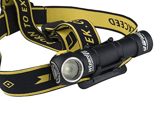 Armytek Wizard v3 XP-L USB Rechargeable NW Headlamp -1120Lm w/3200mAh Battery Included