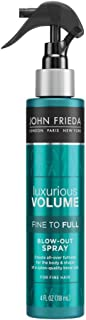 John Frieda Luxurious Volume Fine to Full Blow Out Spray for Fine Hair, 4 Ounce