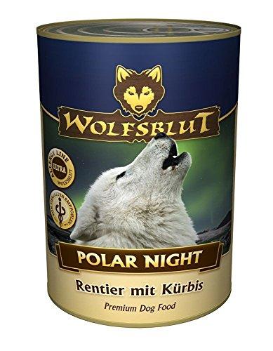 Wolfsblut | Polar Night | 6 x 395 g | renifer | mokra karma | karma dla psów | bez zbóż