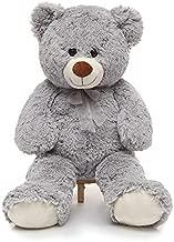 CYBIL HOME Giant Teddy Bear Soft Plush Bear Stuffed Animal for Girlfriend Kids,Grey,35 Inches