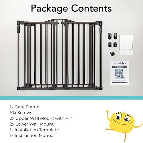 51Zr0BWAiFL The Best Hardware Mounted Baby Gates [2021 Review]