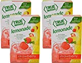 Includes: 4 boxes Strawberry Lemonade (10ct each) 10 Calories per packet & only 1g Sugar Real Flavor from Real Fruit No Preservatives & No Artificial Flavors Gluten Free & Non GMO