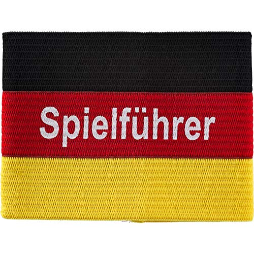 Pro Touch Germany Armbinden, SCHW/ROT/Gold, 2
