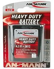 Ansmann platte batterij 3R12 1 Stuk zwart