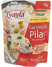 250 Gr Yayla Garnitürlü Pirinç Pilavı