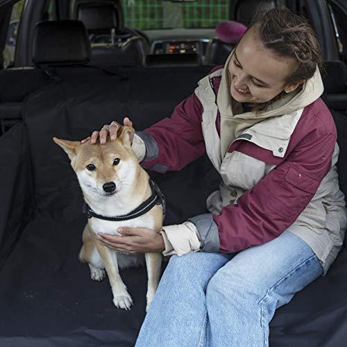 KingCamp Kofferraumschutz für Hunde,Kofferraumschutzmatte Hundedecke mit Seitenschutz, Wasserdicht rutschfest Kratzfest,Passt SUV Auto Lastwagen