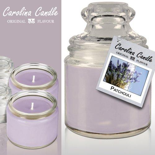 Deuba 2X Soja-Duftkerzen - Carolina Candle - Sweet-Patchouli