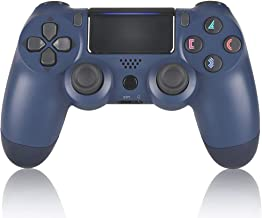 Wiireless Controllers for PS4  AO Remote for DualShock 4, Game Control Compatible for Playstation 4, Midnight Blue