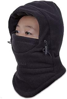 Kids Windproof Double Thick Fleece Hoody Balaclava...