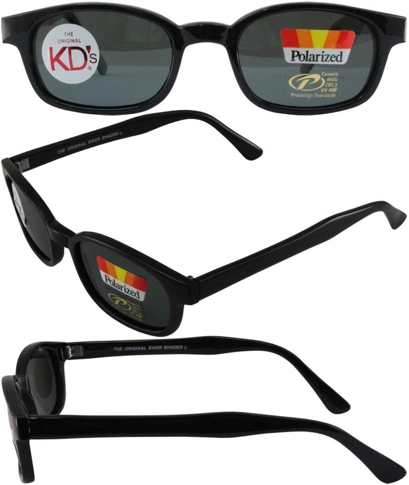 Original 25% OFF KD's Biker Max 50% OFF Sunglasses Polarized Lenses Smoke with
