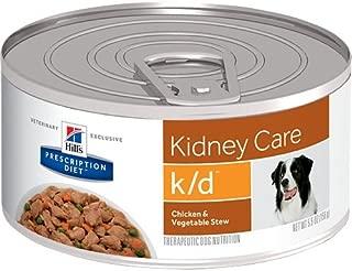 HILL'S Prescription Diet k/d Kidney Care Chicken & Vegetable Stew Canned Dog Food 12/5.5 oz