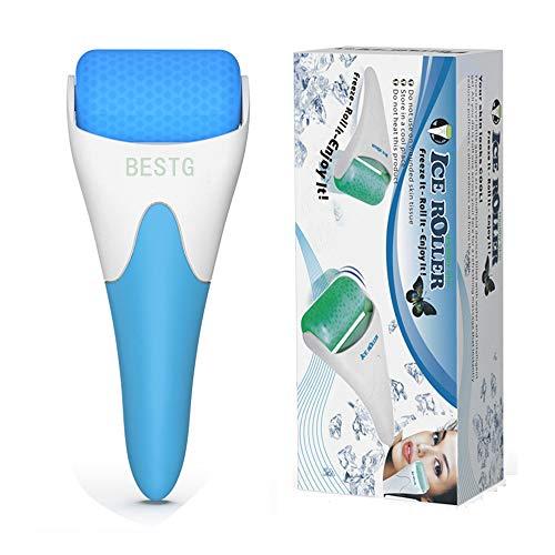 BESTG Face Body Massager, rouleau facial portable pour le visage, le cou et les yeux réduisant les poches, resserre les pores, apaise les rougeurs, soulage les poches, les douleurs et les douleurs