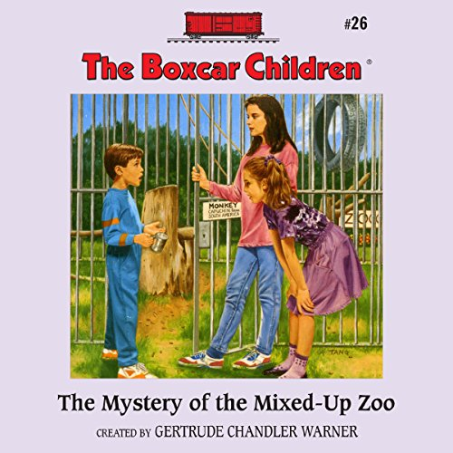 The Mystery of the Mixed-Up Zoo audiobook cover art