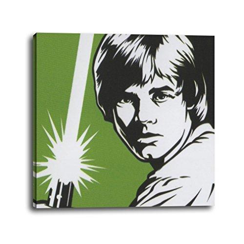 RuidoRosa Cuadro Star Wars Luke Skywalker Pop Art (25x25)
