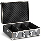 Mantona Photo Suitcase Basic M, black/metallic