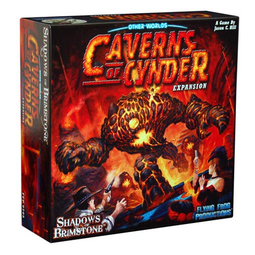 Shadows of Brimstone: Caverns of Cynder (Exp.) (engl.)