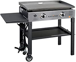 Blackstone Pro Series 28 in. 2-Burner Griddle Propane Cooking Station with 28 in. Heavy Duty Griddle/Grill Cover