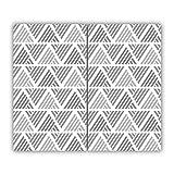 Tulup Glas Herdabdeckplatte Ceranfeldabdeckung Spritzschutz Glasabdeckplatte Kochplattenabdeckung...
