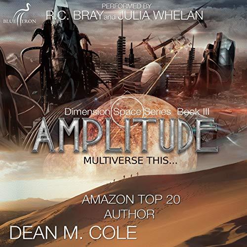 Amplitude audiobook cover art